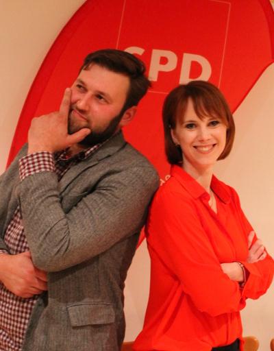 Moritz Kalthoff und Irene Schlotter sind bereit für den Landtagswahlkampf 2019